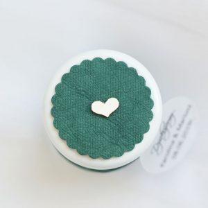 Pokrywka słoiczka washpapa butelkowa zieleń