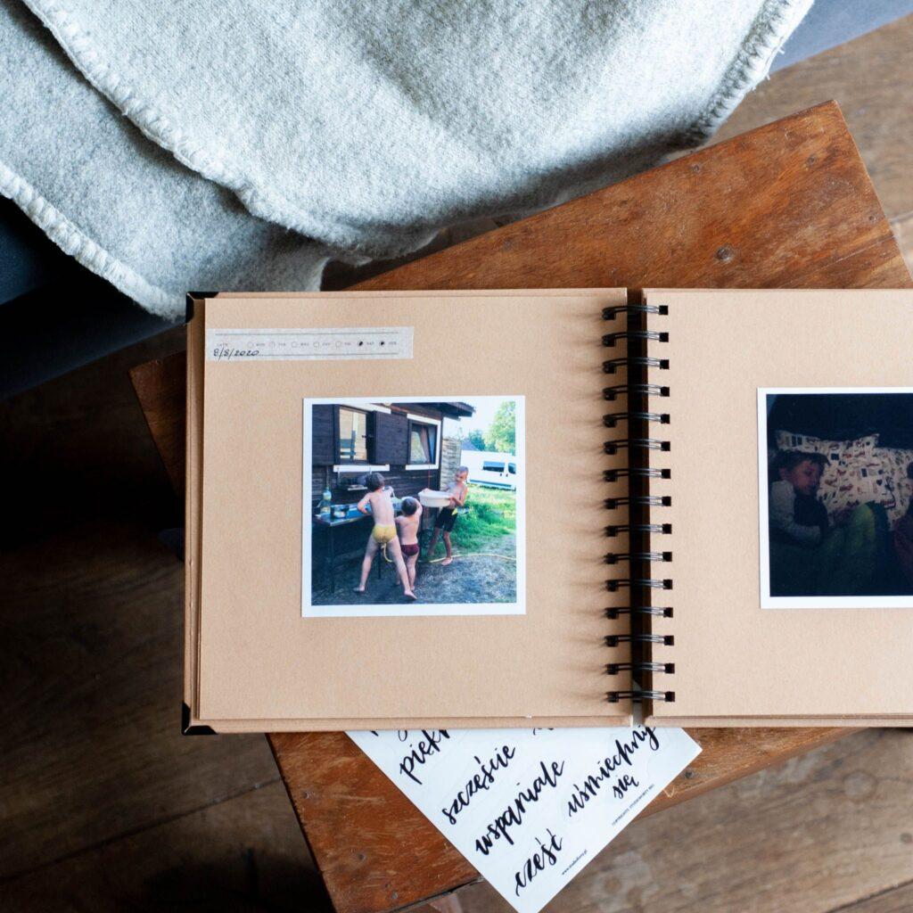 album na kwadratowe zdjęcia