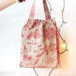 bawełniana torebka na prezent