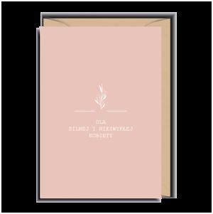 kartka dla silnej kobiety