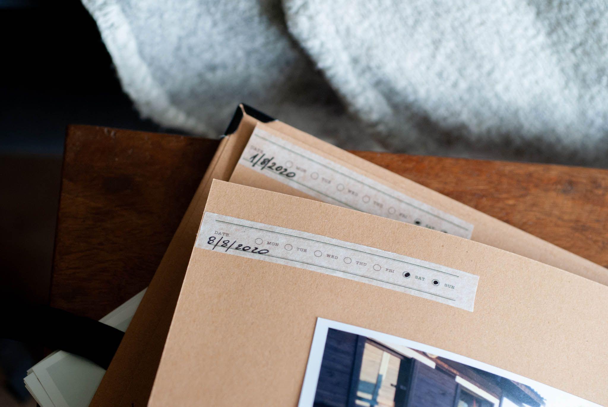 album ze zdjęciami małych podróży