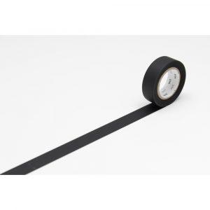MT washi tapes matte black